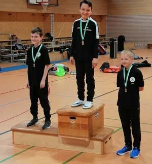 von links: Simon Bergmann, Milan Wiegärtner und Noah Görl